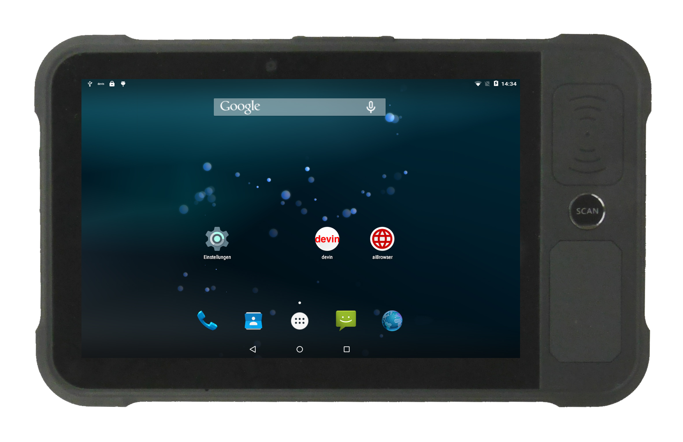 Datafox LogiScan 3000 Industrie Tablet PC